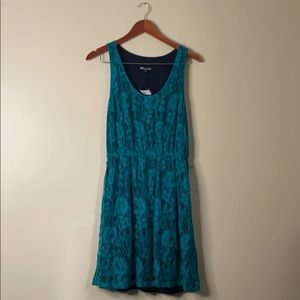 NWT EXPRESS TEAL LACE DRESS